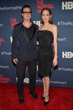 Pin for Later: Brad Pitt und Angelina Jolie auf hochkarätiger Premiere