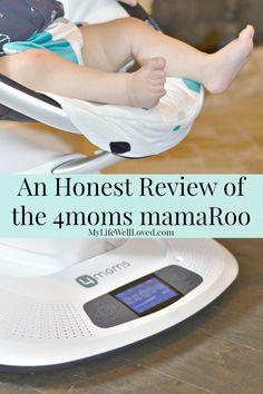 My Life Well Loved: 4moms mamaroo swing review. Baby boy loves it...even later…