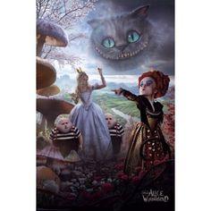 Disney Alice in Wonderland Poster Print (24 x 36)