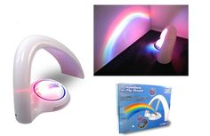 LED rainbow projector at 49 aed #Motion_activated_LED_projector_beams_rainbows_onto_walls_and_ceilings_shepherding_children_into_technicolor_dreams #hstdeals #shopping #to_order_call_whatsapp_0n_0509383829 #validtillstocklast...