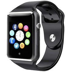 Bluetooth Smart Watch - ANCwear Smartwatch for Android Phones with SIM Card Slot Camera Fitness Tracker Watch with Sleep Monitor Step Counter Watch for Kids Women Men Compatible Android iOS Phones Best Kids Watches, Best Smart Watches, Stylish Watches, Cool Watches, Wrist Watches, Smartwatch, Ios Phone, Android Phones, Iphone 11