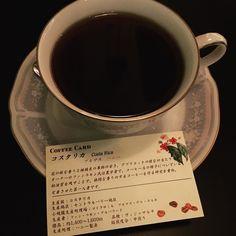 日本ナンバーワンバリスタが入れてくれたコーヒー リラックス夜カフェタイム(_-)