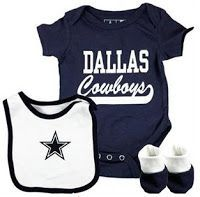 Dallas Cowboys Baby Clothes Fair Dallascowboysbabybodysuitonepiecebabybywhimsiesapparel$ Decorating Design