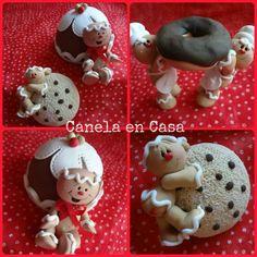 Otras galletitas de jengibre en pasta francesa. Me encantan!!!