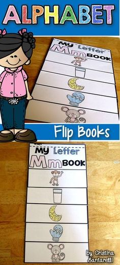 Alphabet Flip Books!