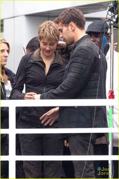 SHEO on set (12/21/14)