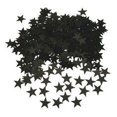 Sorte konfetti stjerner til bordene :-)