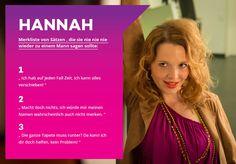 Hannah weiß: Frau lernt nie aus. #Traumfrauen