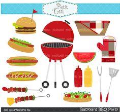 Summer BBQ Clip Art | Like this item?