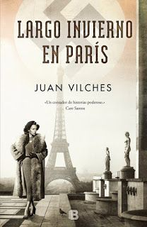Los libros de Dánae: Largo invierno en París.- Juan Vilches