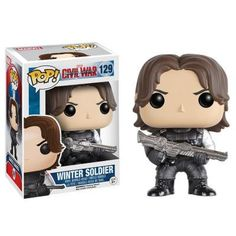 Winter Soldier Collectible Vinyl Figure - Original Funko Pop Marvel Ci – One Geek  DETAILS & DIMENSIONS Product: Winter Soldier Figures Product Size: 10 cm Material: PVC Age: Over 6 years old Type: Collectible Vinyl Doll Theme: Movie & TV Manufacturer: Funko