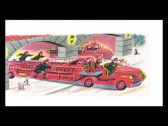 Vijf brandweermannetjes, digitaal prentenboek voor kleuters