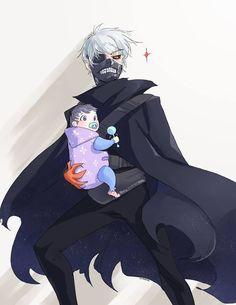 Tokyo Ghoul Kaneki would be a nice daddy hahahahahah ~