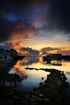 Semporna sunrise, Sabah Malaysia