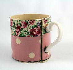 Pink floral mug | Made By Hand Online