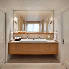 Minimalist Scandinavian Bathroom Furniture Decor Style