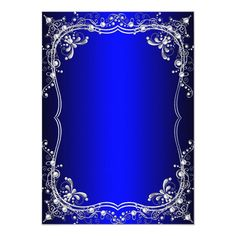 Shop Royal Blue Sweet 16 Silver Pearl Damask party Invitation created by Zizzago. Blue Background Patterns, Red Background Images, Royal Blue Background, Studio Background Images, Glitter Background, Text Background, Sweet 16 Invitations, Party Invitations, Invite