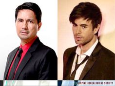 Filipino actor and politician Richard Gomez and Spanish Crooner Enrique Iglesias are related. #kasaysayan #kamaganak #geni Enrique Iglesias, Politicians, Filipino, Spanish, Daughter, Actors, Spanish Language, Spain, My Daughter
