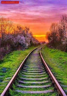 Photo Background Images, Photo Backgrounds, Landscape Photography, Nature Photography, Old Trains, Train Pictures, Train Tracks, Image Hd, Nature Pictures