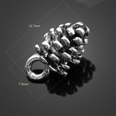 Cheap jewelry making charms, Buy Quality pine cone charm directly from China bracelet charms diy Suppliers:    High quality 6 pcs/lot antique silver pendant jewelry animals dog paw charms Alloy Plated Charm Metal Charms 21mm*27.