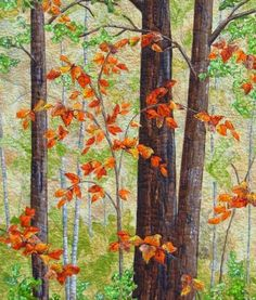Cathy Geier\'s Quilty Art Blog: Fall! My Favorite Season for Quilting