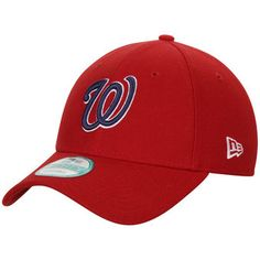 Men's Washington Nationals Bryce Harper New Era Red Player 9FORTY Adjustable Hat