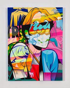 Pop Art x Street Art by POSE | Inspiration Grid | Design Inspiration