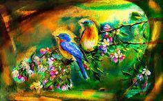طيور جميلة ile ilgili görsel sonucu