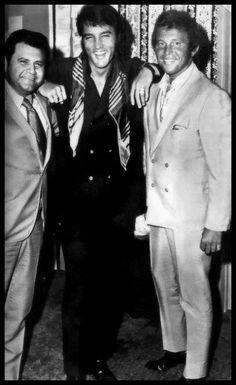 Elvis - backstage @ the International Hotel, Las Vegas 1969.
