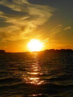 Sunset by Lisa Wooten #sunset #nature