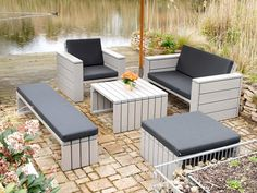 Nice Loungem bel Set Lounge Bank Lounge Hocker