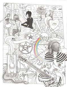 Emo Drawings | Emo Drawing