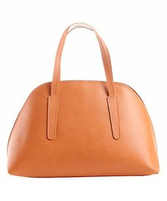 Another great find on #zulily! Cuoio Dome Leather Satchel by Edmond Louis #zulilyfinds