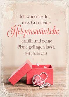 Postkarte - Deine Herzenwünsche