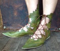 Don't I need Elven leaf boots?  And a red pair for fall, while we're at it?