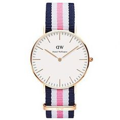 Hot 18 Color Top Brand Men Women Daniel Wellington Watch Luxury Style DW Watches  Nylon Strap Military Quartz Wristwatch Reloj