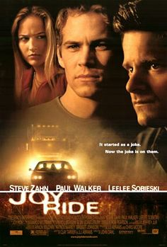 It's summer break and college freshman Lewis Thomas has decided to embark on a cross-country road trip to pick up the girl of his dreams, Venna . But Lewis' romantic hopes hit a detour when he stops on the way to rescue his older brother, Fuller, who goads him into playing a practical joke on a lonely trucker, over a CB radio. Now, that trucker, an unseen and terrifying force known only by his CB handle, Rusty Nail, wants the last laugh and revenge. Steve Zahn  Paul Walker  Leelee Sobieski