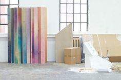 Wooden aquarelle by Meike Harde - artnau | artnau