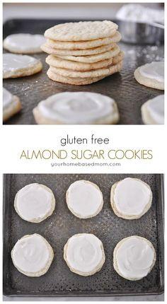 gluten free almond sugar cookies from yourhomebasedmom