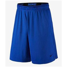 Nike Fly Dri-FIT 9'' Workout Shorts ($24) ❤ liked on Polyvore featuring men's fashion, men's clothing, men's activewear, men's activewear shorts, activewear, men, mens activewear and mens activewear shorts