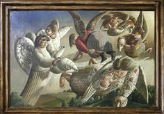 Stanley Spencer, Angels of the Apocalypse, 1949