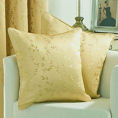 Set of 2 Elegant Floral Decorative Pillow Cover ZS017 – USD $ 18.14