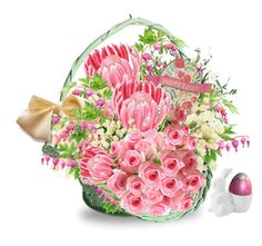 """""""Easter Basket"""" by easy-dressing ❤ liked on Polyvore featuring art, polyvoreeditorial, groupcontest and polyvoreart"""