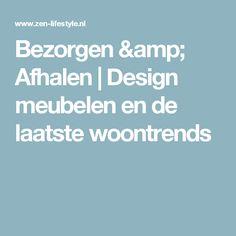 Bezorgen & Afhalen | Design meubelen en de laatste woontrends