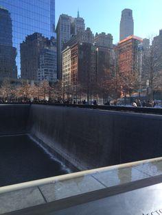 Waterfall memorial New York