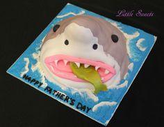 Amazing shark cake