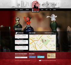 Big Texas Beer Fest web design by Solid Snake