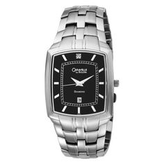 mens diamond watches techno master diamond watch 1ct tm 2134 a buy caravelle by bulova men s 43d001 diamond accented black dial watch