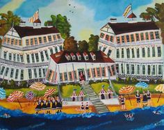 Folk Art Paintings by Sharon Eyres
