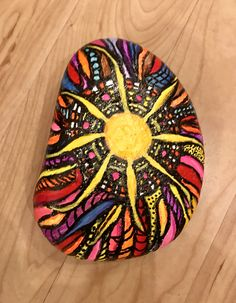 Painted Sun Rock